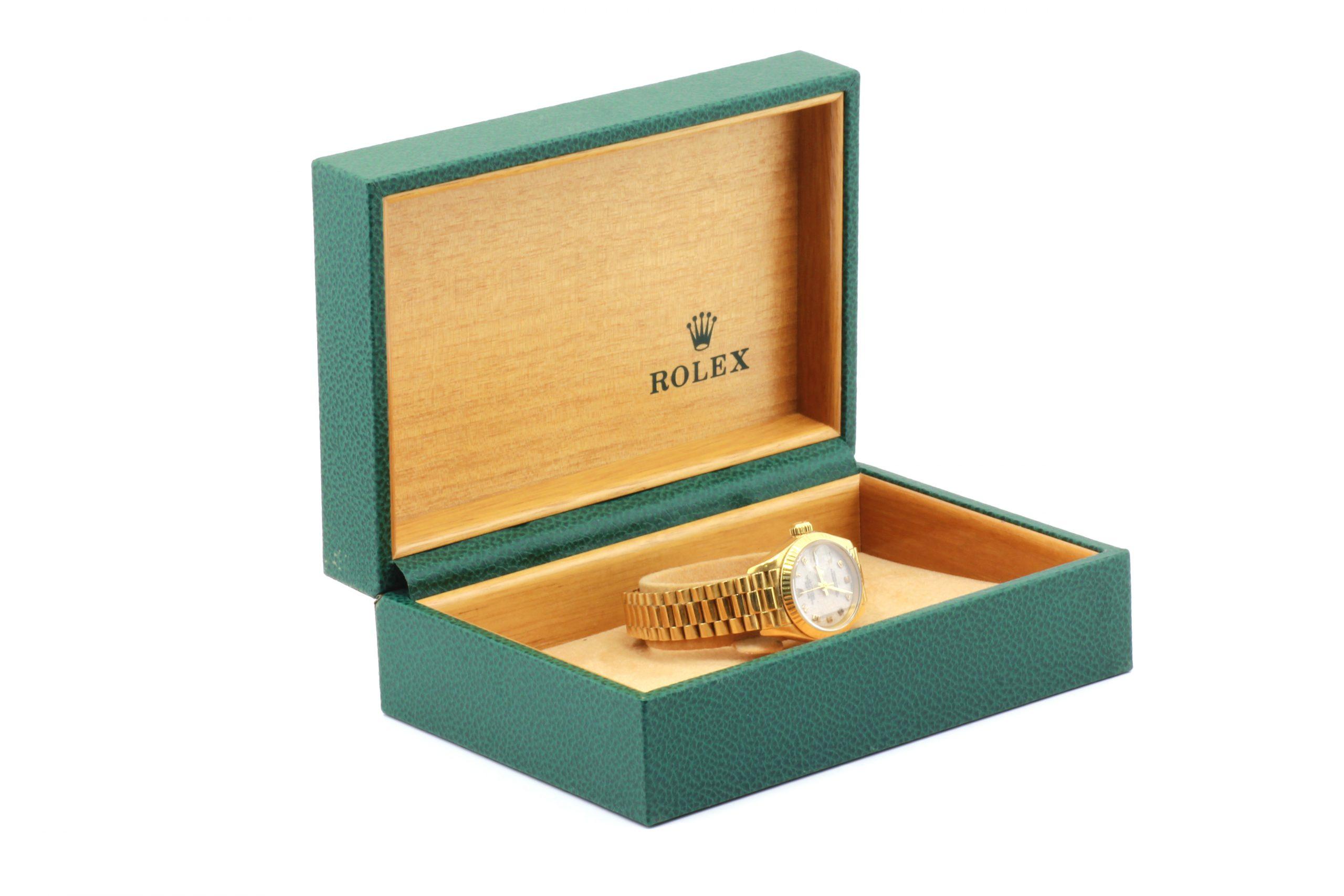 "Reloj Rolex Oyster ""Perpetual Date Just"" Oro."